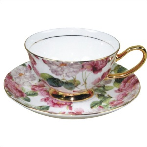 400915_Elegant_Flower_Tea_Cup_with_Saucer_Fine_Bone_China_1